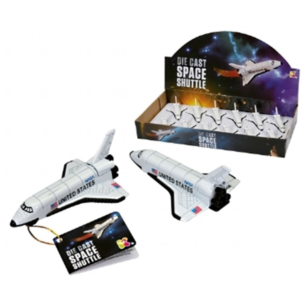 Diecast Space Shuttle Toy – 10cm Party Bag Filler
