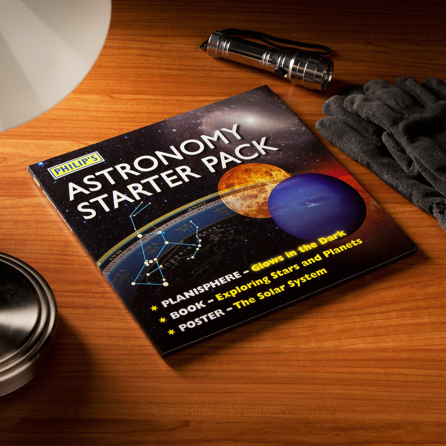 Philip's Astronomy Starter Pack Book & Planisphere ...